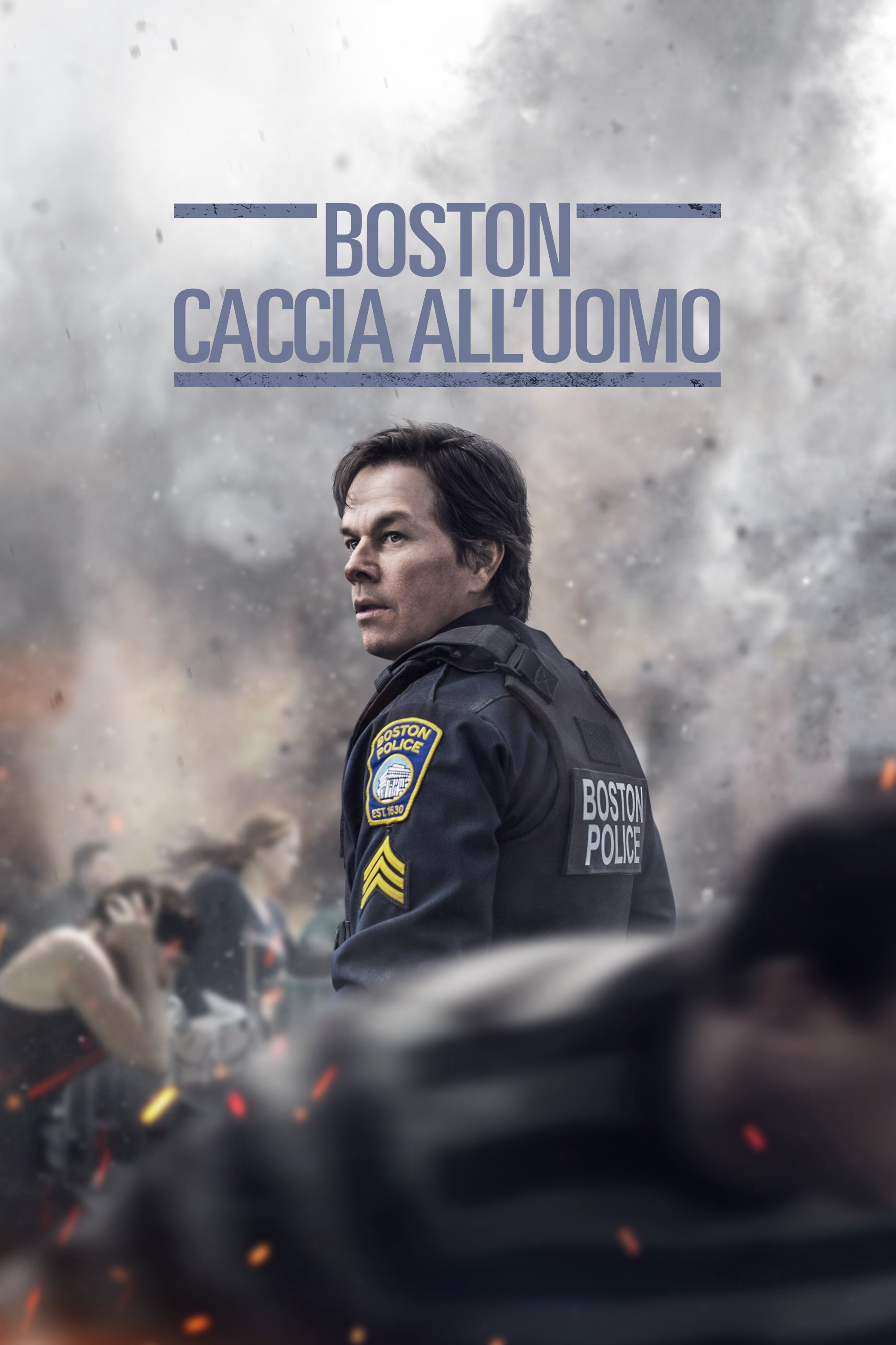 "Poster for the movie ""Boston: Caccia all'uomo"""