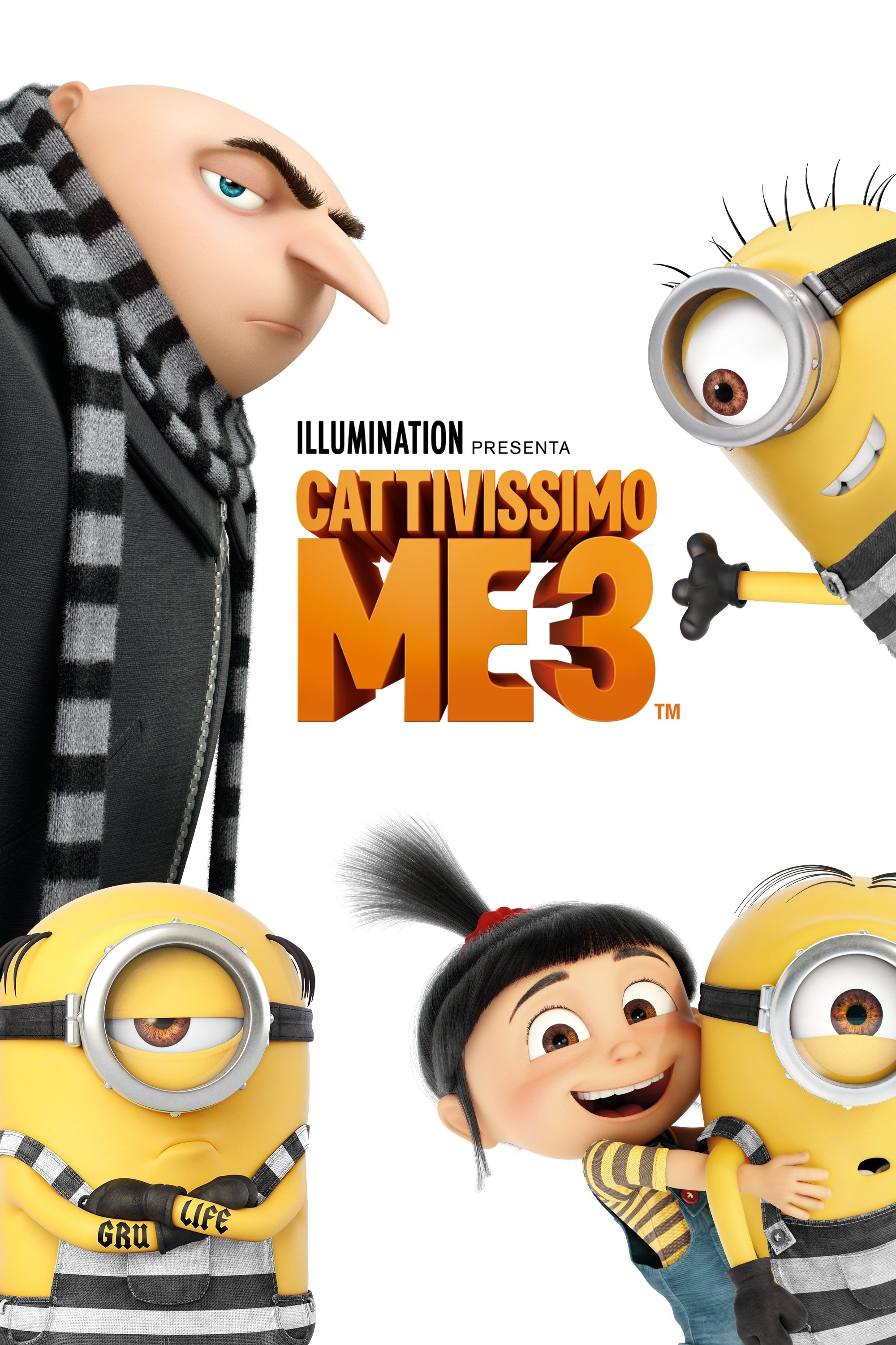 "Poster for the movie ""Cattivissimo me 3"""
