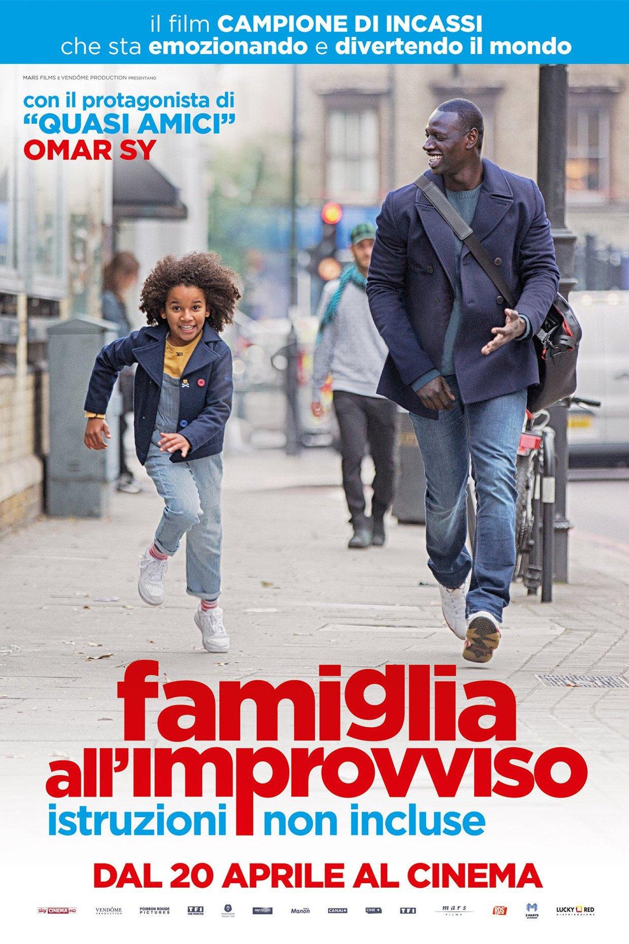 """Poster for the movie """"Famiglia all'improvviso - Istruzioni non incluse"""""""