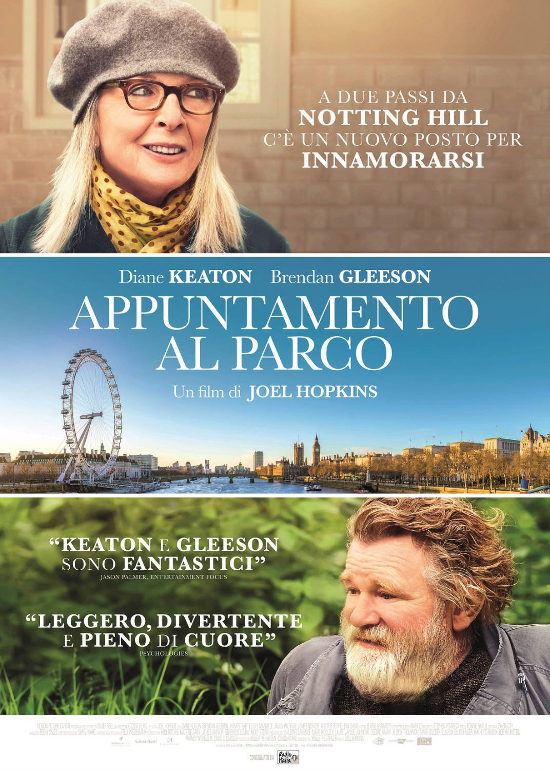 "Poster for the movie ""Appuntamento al parco"""