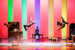 "CIRCO E DINTORNI ""THE BLACK BLUES BROTHERS un tributo acrobatico"""