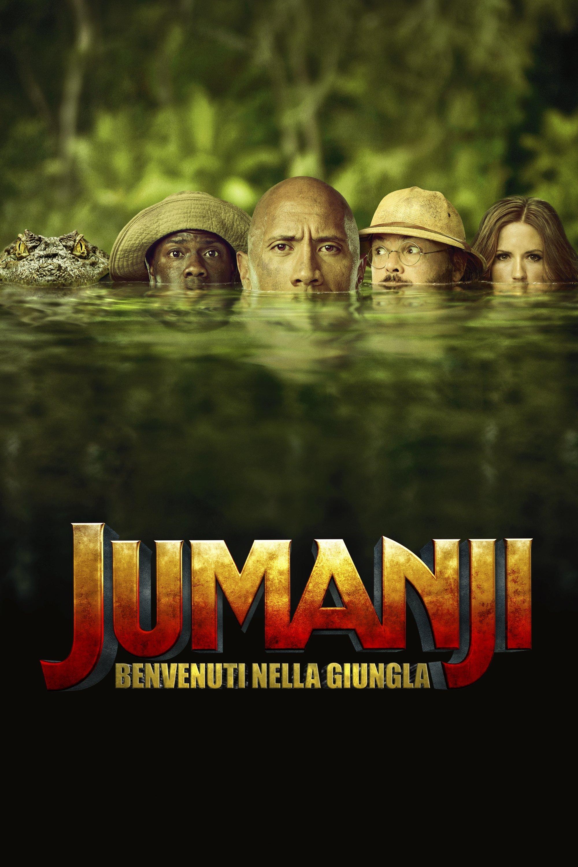 "Poster for the movie ""Jumanji: Benvenuti nella giungla"""