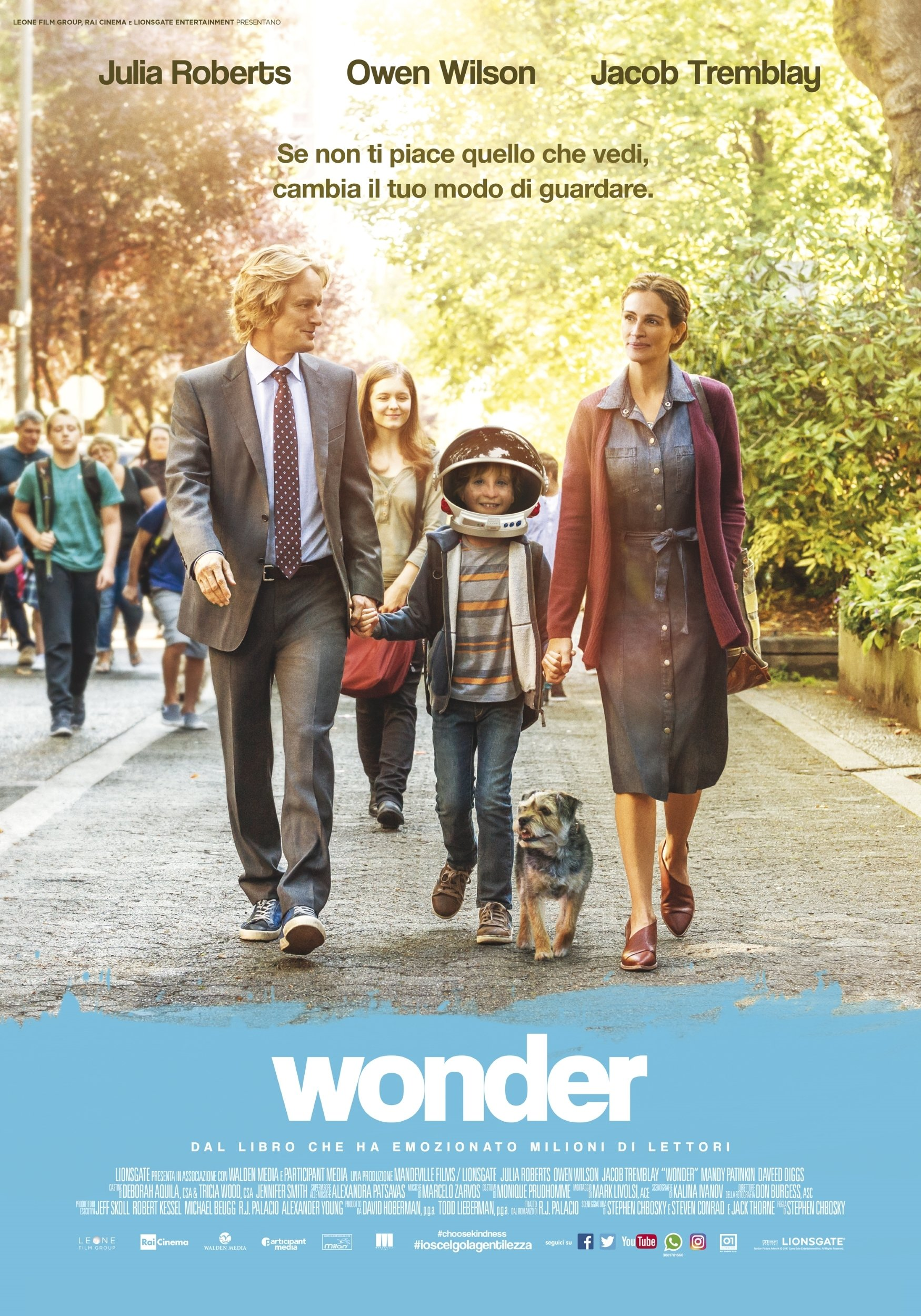 """Poster for the movie """"Wonder"""""""