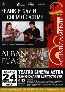 FRANKIE GAVIN AND COLM O'CAOIMH + ALBAN FUAM