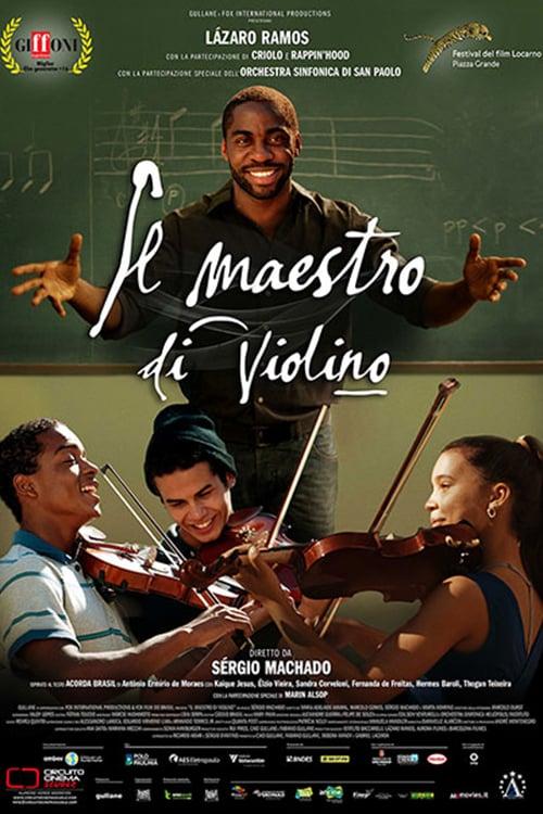 """Poster for the movie """"Il maestro di violino"""""""