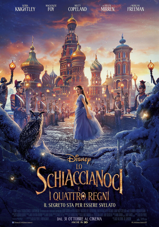"""Poster for the movie """"Lo schiaccianoci e i quattro regni"""""""