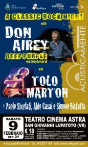 DON AIREY + TOLO MARTON