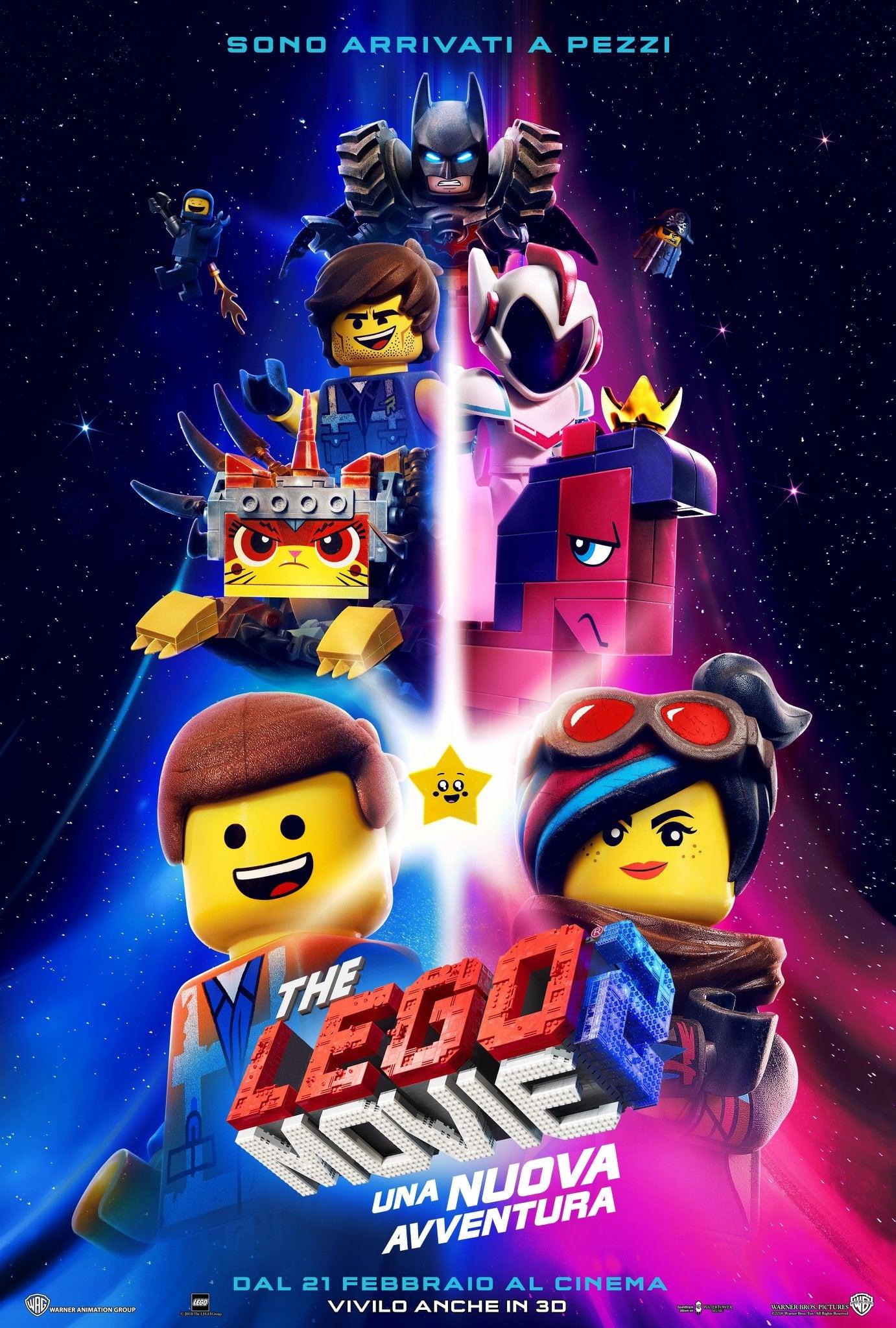"""Poster for the movie """"The Lego Movie 2: Una nuova avventura"""""""