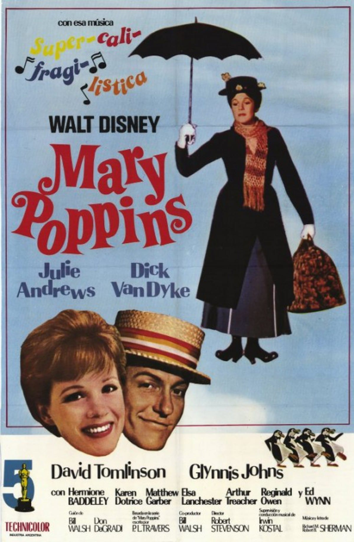"Poster for the movie ""Mary Poppins"""