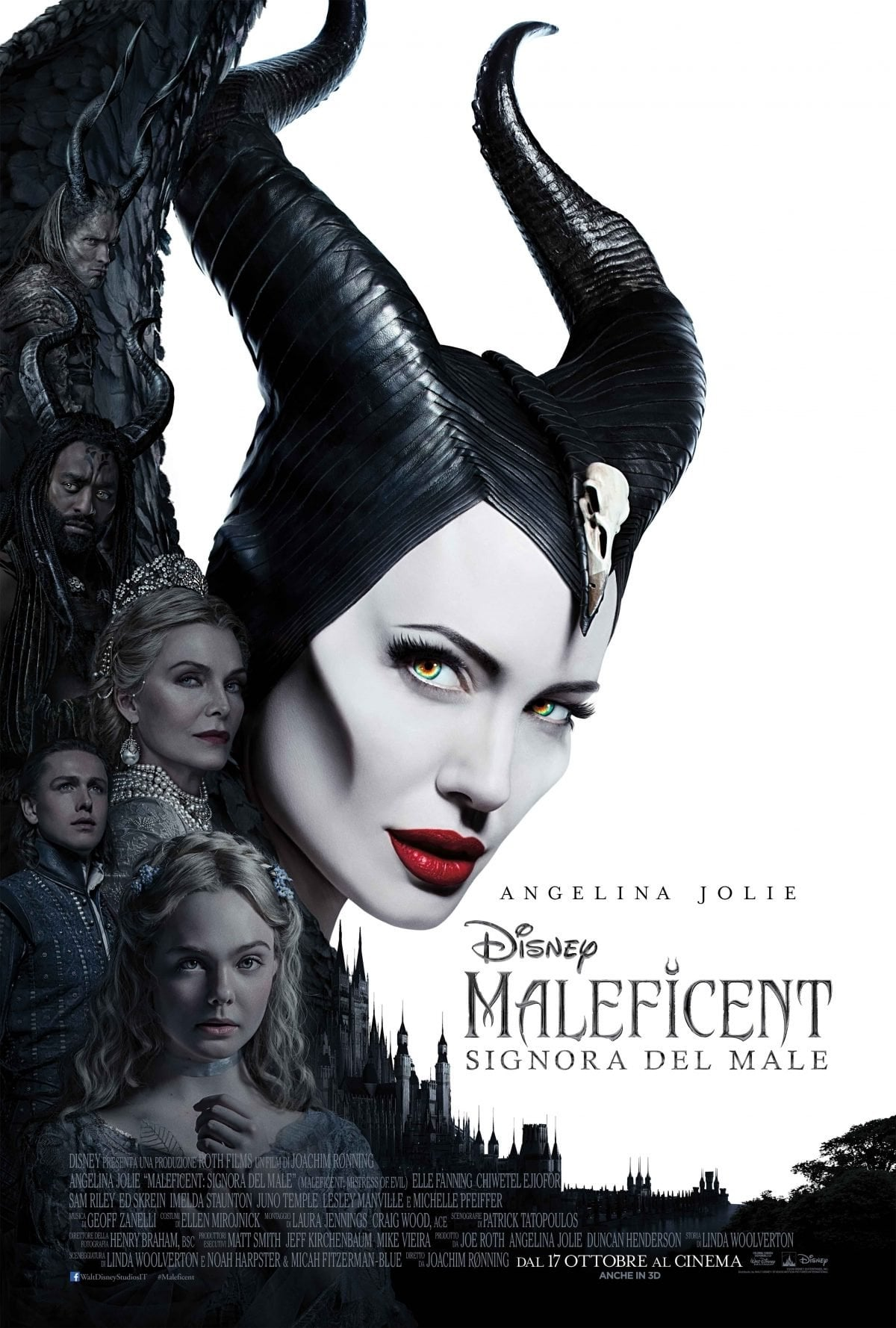 "Poster for the movie ""Maleficent: Signora del male"""