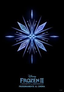 "Poster for the movie ""Frozen II - Il segreto di Arendelle"""